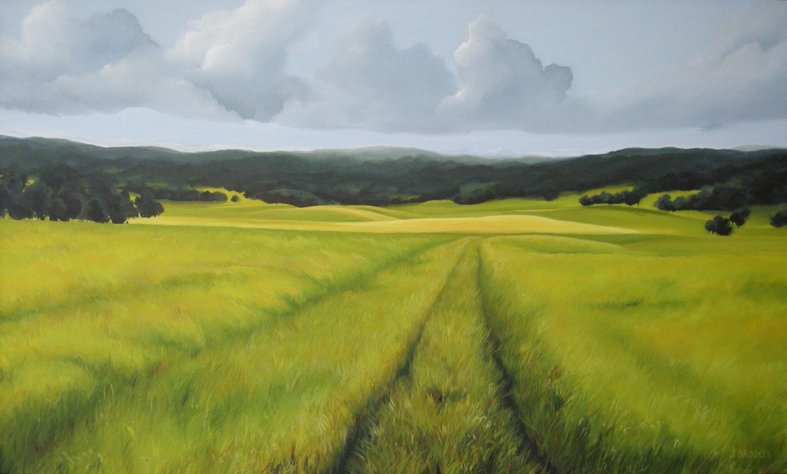 Fields of Gold 30x40 - 2012