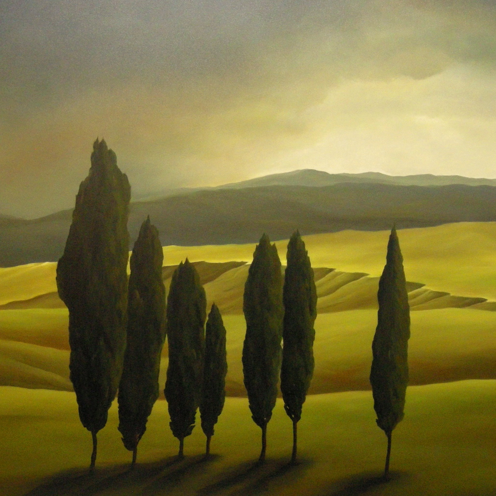 SHADES OF TUSCANY 36X36 -2009